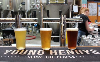 YOUNG HENRYS CRAFT BEER TASTING